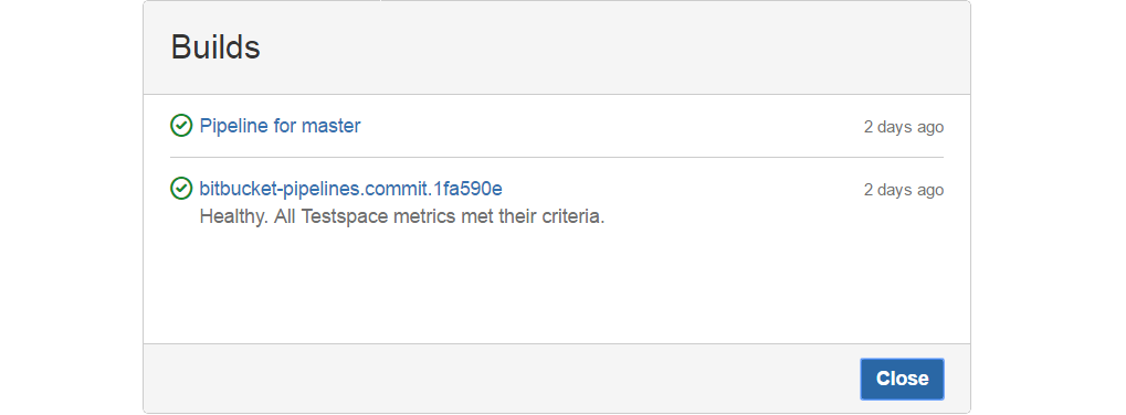 BitBucket Commits Check